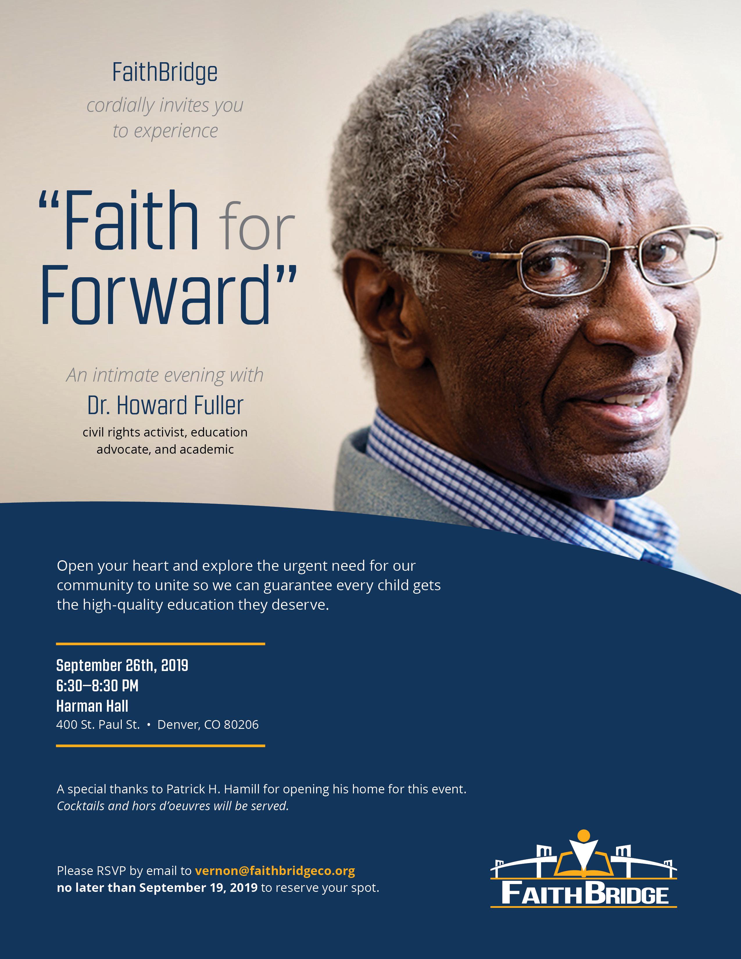 FaithBridge event invite